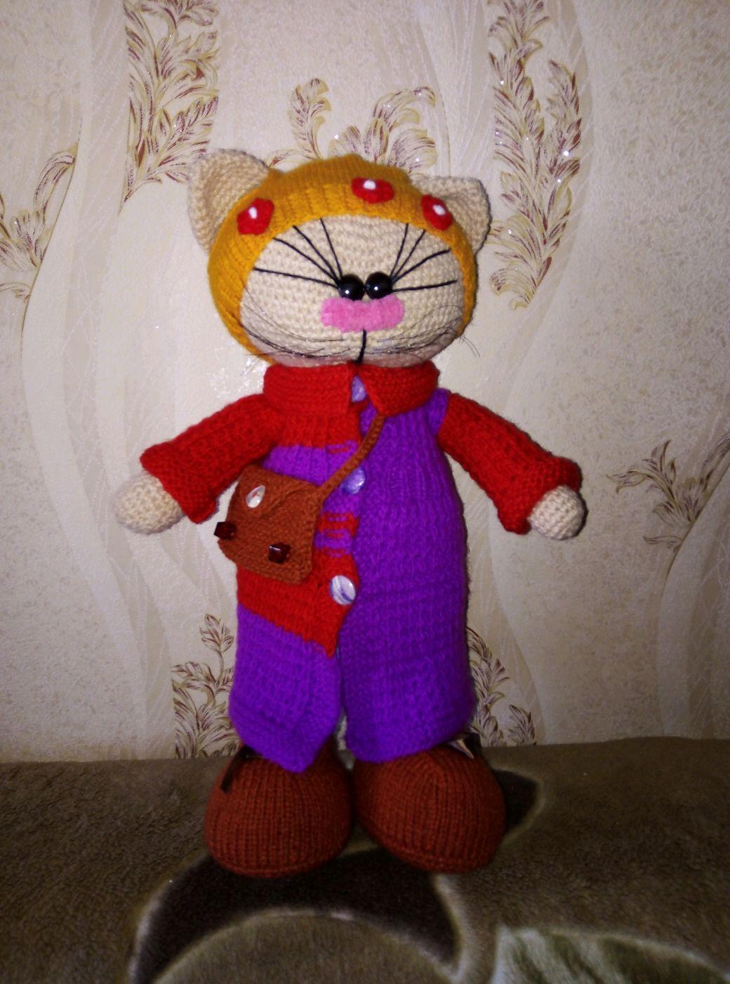 Копия работы: Кошечка тильда, Куклы Тильда, Пермь,  Фото №1