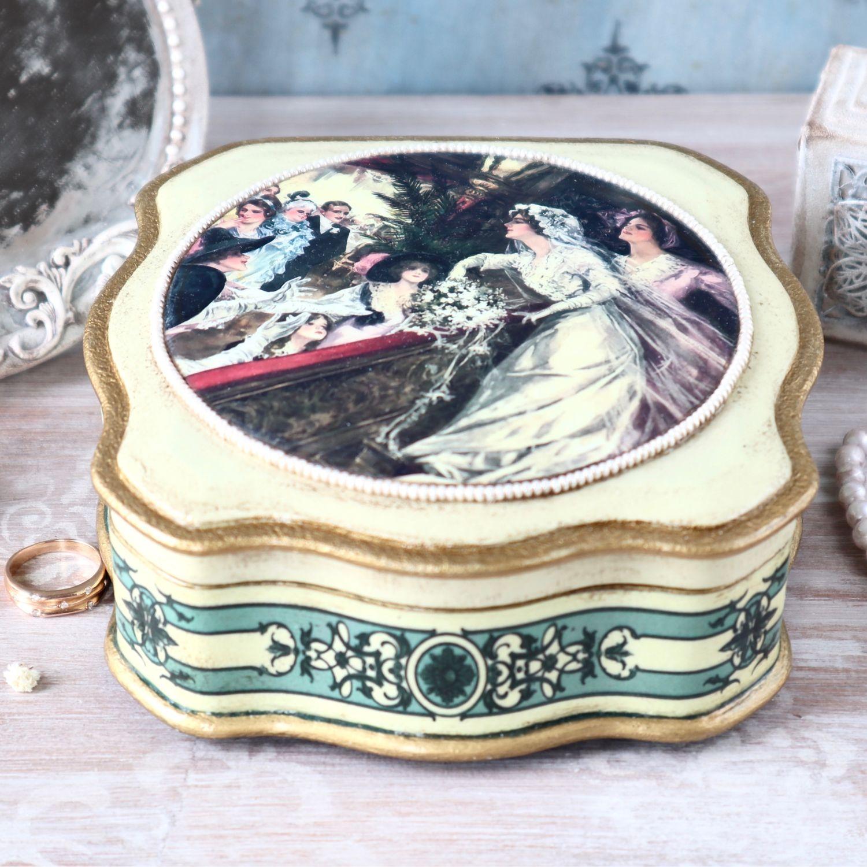 Wedding Gift Box 13cm x h13cm x h5cm, Gifts, Zheleznodorozhny,  Фото №1
