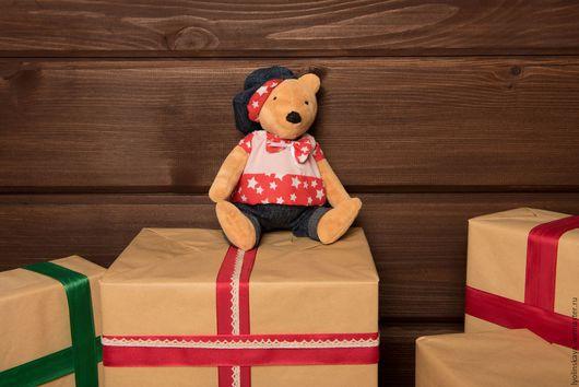 Мишки Тедди ручной работы. Ярмарка Мастеров - ручная работа. Купить Медвежонок Сёмочка. Handmade. Комбинированный, мишка тедди