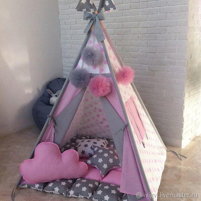 Вигвам шалаш палатка домик, Подарок новорожденному, Московский,  Фото №1