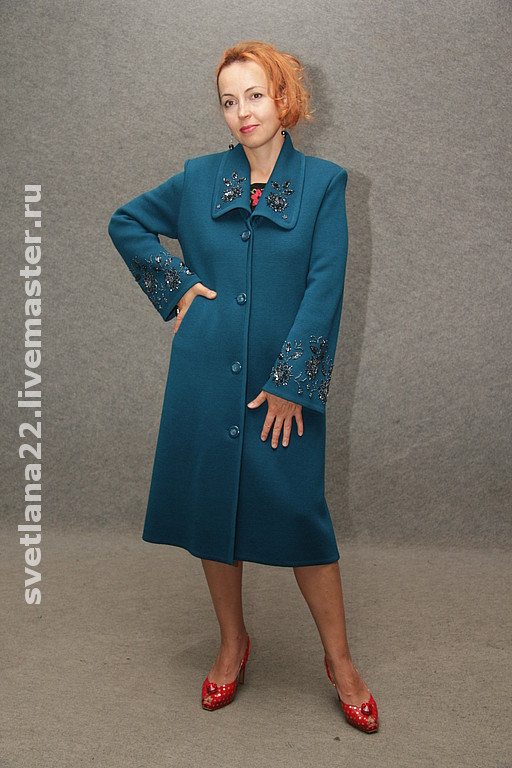 """Outer Clothing handmade. Livemaster - handmade. Buy Knitted coat """"For business lady 2"""".Knitted coat"""