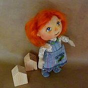 """Куклы и игрушки ручной работы. Ярмарка Мастеров - ручная работа """"Рыжик"""".Текстильная кукла.. Handmade."""
