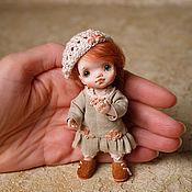 Dolls handmade. Livemaster - original item Author`s miniature doll 1:12: , for a Dollhouse.. Handmade.