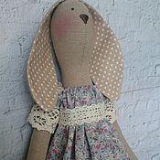 Куклы и игрушки ручной работы. Ярмарка Мастеров - ручная работа Интерьерная текстильная игрушка Тильда Зайка. Handmade.