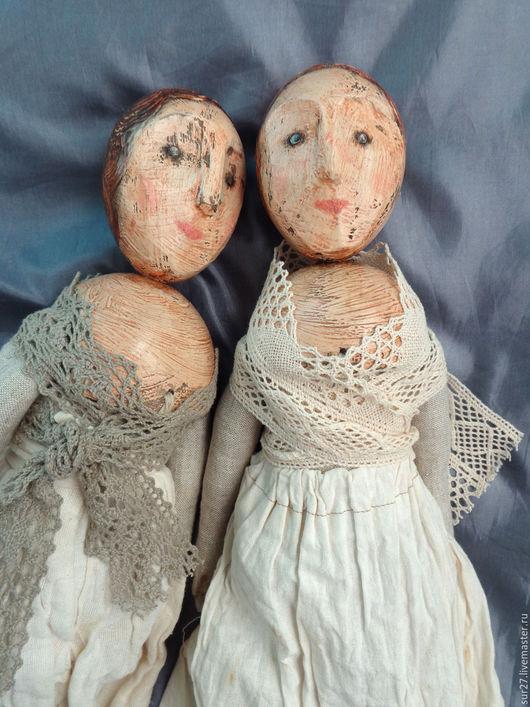 Коллекционные куклы ручной работы. Ярмарка Мастеров - ручная работа. Купить куклы. Handmade. Бежевый, подарок девушке