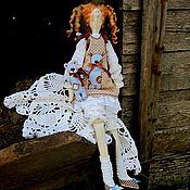 Куклы и игрушки ручной работы. Ярмарка Мастеров - ручная работа Кукла тильда Мила и Атилла. Handmade.