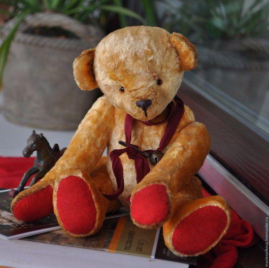 Мишки Тедди ручной работы. Ярмарка Мастеров - ручная работа. Купить Медведь Ричард (25см). Handmade. Желтый, коллекционные игрушки