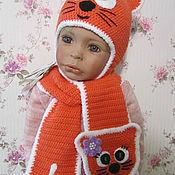 Работы для детей, ручной работы. Ярмарка Мастеров - ручная работа Комплект ,,Рыжий кот,,. Handmade.