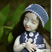 Куклы и игрушки ручной работы. Ярмарка Мастеров - ручная работа Ришка, фарфоровая шарнирная кукла. Handmade.