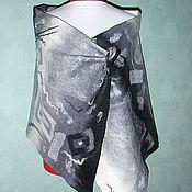 Аксессуары handmade. Livemaster - original item Tippet of wool Silver. Handmade.