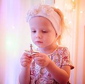 Работы для детей, ручной работы. Ярмарка Мастеров - ручная работа платье для девочки Нежность. Handmade.