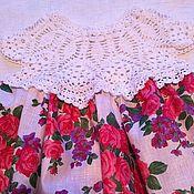 Платья ручной работы. Ярмарка Мастеров - ручная работа Платье Розовый сад. Handmade.