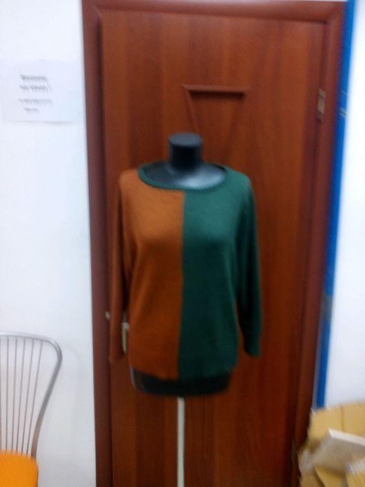 Кофты и свитера ручной работы. Ярмарка Мастеров - ручная работа. Купить Свитер вязаный. Handmade. Вязаный свитер, Машинное вязание