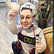 Портретные куклы ручной работы. Ярмарка Мастеров - ручная работа. Купить Куклы по фотографии с портретным сходством.. Handmade. Разноцветный