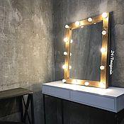 Для дома и интерьера handmade. Livemaster - original item Make-up mirror OLD TIMBER.. Handmade.