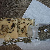 """Косметика ручной работы. Ярмарка Мастеров - ручная работа Натуральное мыло """"Чайная церемония"""". Handmade."""