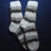 Аксессуары handmade. Livemaster - original item Teenage knitted socks. Handmade.