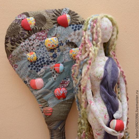 Коллекционные куклы ручной работы. Ярмарка Мастеров - ручная работа. Купить Ева до греха. Handmade. Бледно-розовый, хлопок