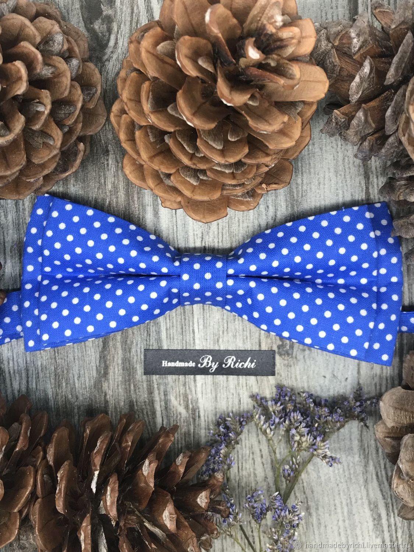 Ties & Bow Ties handmade. Livemaster - handmade. Buy Bright polka dot bow tie.Gift, dark green