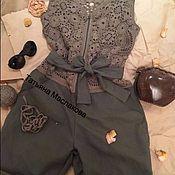 """Одежда ручной работы. Ярмарка Мастеров - ручная работа комбинезон """"Летний"""". Handmade."""