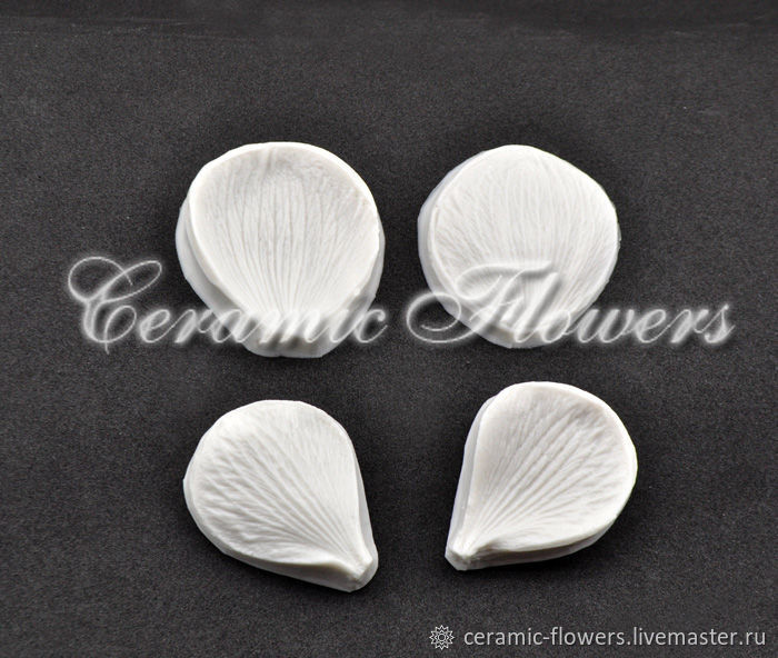 Set silicone mold(Weiner) Anemone petals, Molds for making flowers, Rostov-on-Don,  Фото №1