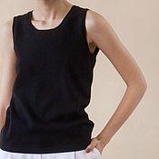 Одежда handmade. Livemaster - original item Cashmere t-shirt knitted Edition. Handmade.