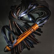 Плетка ручной работы. Ярмарка Мастеров - ручная работа Плеть комбинированная флоггер плетка бдсм. Handmade.