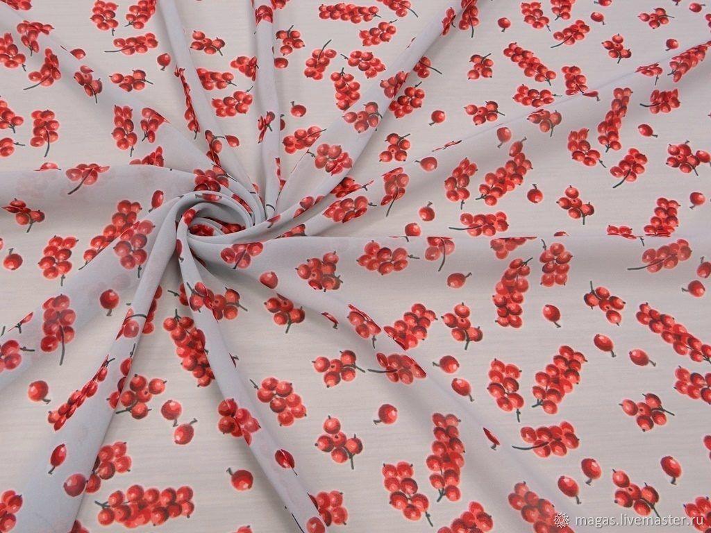 CHIFFON-BERRY - GERMANY, Fabric, Moscow,  Фото №1