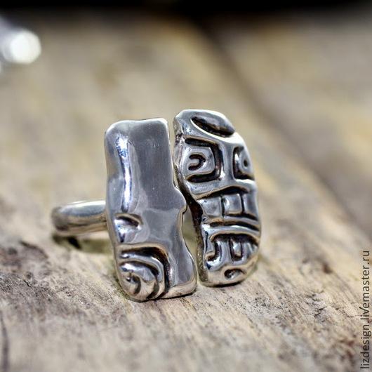 Кольца ручной работы. Ярмарка Мастеров - ручная работа. Купить Сарацин. Кольцо из серебра 925 пр. Handmade. Серебро