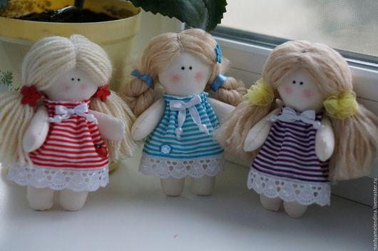 Миленькая кукла `Ангел-хранитель`