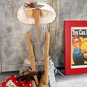 Куклы и игрушки ручной работы. Ярмарка Мастеров - ручная работа кукла тильда ручной работы  Хочу на море!. Handmade.
