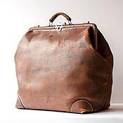 """Сумки и аксессуары handmade. Livemaster - original item Handmade leather gripsack art SV """"Paris"""" designer work. Handmade."""