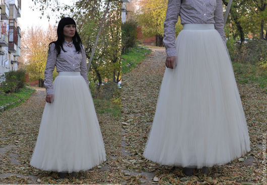 юбка из фатина в пол свадебная заказать купить доставка 89267060998
