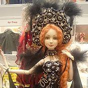 """Куклы и игрушки ручной работы. Ярмарка Мастеров - ручная работа Авторская шарнирная кукла """"Чёрный Лебедь"""". Handmade."""