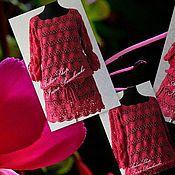 Одежда ручной работы. Ярмарка Мастеров - ручная работа Туника цвета Фуксии. Handmade.