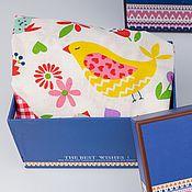 Мужская одежда handmade. Livemaster - original item Briefs for men. Funny gift. The birds are red. Handmade.