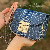 Сумки и аксессуары handmade. Livemaster - original item Amiliya Python skin bag. Handmade.