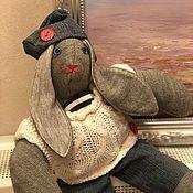 Тедди Зверята ручной работы. Ярмарка Мастеров - ручная работа Зайчик моряк от Bunny Family. Handmade.