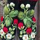 Варежки, митенки, перчатки ручной работы. Варежки с вышивкой  Клубничка. Ludmila Batulina (milenaleoneart). Ярмарка Мастеров. Варежки теплые