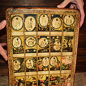 Картины и панно handmade. Livemaster - original item The creation of the world and the first chapters of Genesis. Russia in XVIII.. Handmade.