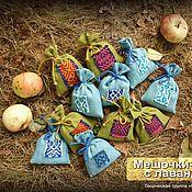 Сувениры и подарки ручной работы. Ярмарка Мастеров - ручная работа Мешочки-саше с лавандой. Handmade.