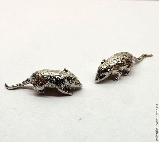 Кулоны, подвески ручной работы. Ярмарка Мастеров - ручная работа. Купить Мышь кошельковая, с клеймом, серебро 925. Handmade. Серебряный