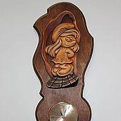 """Для дома и интерьера ручной работы. Ярмарка Мастеров - ручная работа Часы """"Смурфетта"""". Handmade."""