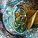 Комплекты украшений ручной работы. ,,Разве что с лешим.....,, кольцо. Наталья Орлова. Ярмарка Мастеров. Натуральные камни, масляные краски