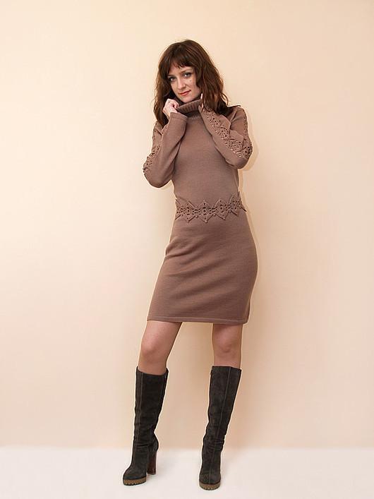 Платья ручной работы. Ярмарка Мастеров - ручная работа. Купить Платье вязаное 4409. Handmade. Платье, нарядное платье