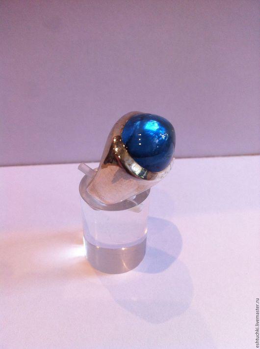 """Кольца ручной работы. Ярмарка Мастеров - ручная работа. Купить Кольцо """"Голубая лагуна"""". Handmade. Топаз натуральный, стильное кольцо"""