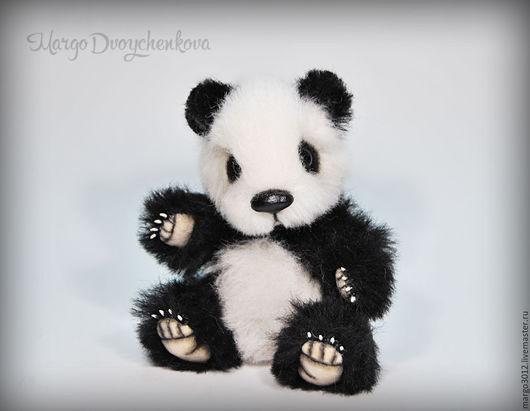 Мишки Тедди ручной работы. Ярмарка Мастеров - ручная работа. Купить Панда Юми. Handmade. Чёрно-белый, тедди игрушка