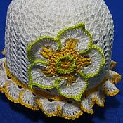 Работы для детей, handmade. Livemaster - original item Panama hats for baby. Handmade.