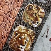 Сумки и аксессуары ручной работы. Ярмарка Мастеров - ручная работа Safari a volta solo)) шопер-сумка с дикими зверЯми) на каждый день лев. Handmade.