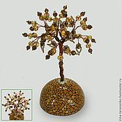 Цветы и флористика handmade. Livemaster - original item Tree of happiness quartz on the dome. Handmade.